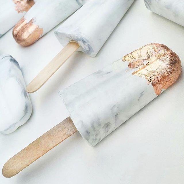 Márvány-arany jégkrém